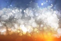 абстрактные света праздника bokeh предпосылки Стоковые Изображения
