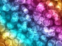 абстрактные света праздника bokeh предпосылки Стоковые Фотографии RF