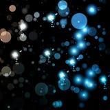 абстрактные света предпосылки Стоковое Изображение RF