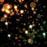 абстрактные света предпосылки Стоковая Фотография