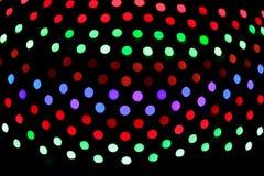 абстрактные света рождества bokeh Стоковая Фотография RF