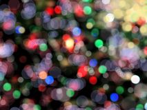 абстрактные света Стоковое фото RF