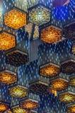 Абстрактные светильники стоковое фото rf