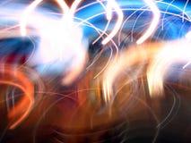 абстрактные светлые движения Стоковая Фотография RF