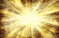 абстрактные световые лучи Стоковая Фотография