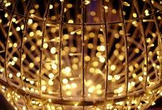 Абстрактные свет и предпосылка Bokeh Стоковые Фотографии RF