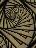 абстрактные свирли предпосылок Стоковое фото RF