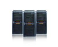 абстрактные серверы Стоковое Фото