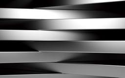 Абстрактные серебряные панели с copyspace для текста 3d представляют иллюстрация вектора