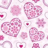 Абстрактные сердца Стоковое фото RF