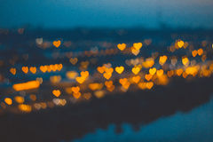 абстрактные сердца Стоковое Фото