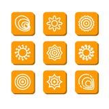 Абстрактные символы Стоковое Изображение