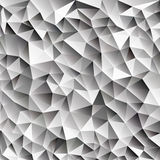 абстрактные сияющие кубы льда 3d vector геометрическая сеть Стоковое Фото