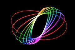 абстрактные следы света Стоковые Фото