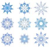 абстрактные снежинки Бесплатная Иллюстрация
