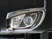 Абстрактные современные фара или headlamp автомобиля с СИД Стоковые Изображения