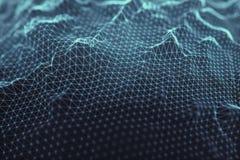 Абстрактные соединения предпосылки Стоковые Изображения RF