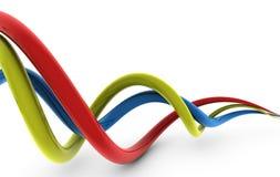 абстрактные соединения Стоковая Фотография RF
