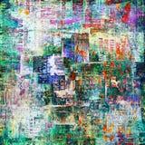 абстрактные сорванные плакаты grunge предпосылки Стоковое Фото