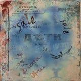 абстрактные сорванные плакаты grunge предпосылки Стоковое Изображение RF