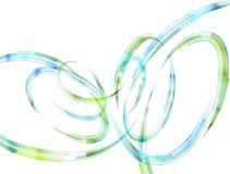 Абстрактные спиральные нашивки в форме петель и дуг Стоковые Изображения