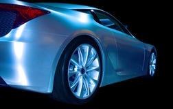 абстрактные спорты автомобиля Стоковые Фото
