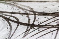 Абстрактные следы Стоковое фото RF