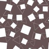 Абстрактные треугольники и предпосылка прямоугольника безшовная Стоковые Фото