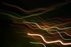 абстрактные тропки света стоковые фотографии rf