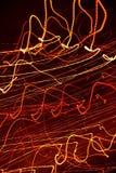 абстрактные тропки света Стоковое Изображение