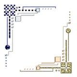 абстрактные углы Стоковая Фотография RF