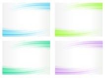 абстрактные установленные предпосылки Стоковое фото RF