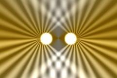 абстрактные фары Стоковая Фотография RF