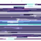 Абстрактные фиолетовые обои в стиле пиксела небольшого затруднения Фиолетовый геометрический шум картины Grunge, современная пред Стоковые Фото