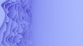 абстрактные формы волны 4K с космосом экземпляра бесплатная иллюстрация