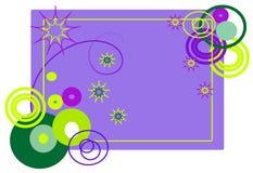 абстрактные формы рамки Стоковые Фотографии RF