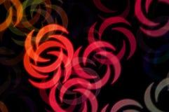 Абстрактные формы свирли Стоковые Фото