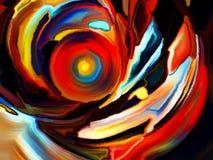 Абстрактные формы цвета Стоковые Фото