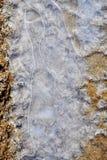 Абстрактные формы льда Стоковая Фотография RF