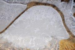 Абстрактные формы льда Стоковое фото RF