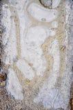 Абстрактные формы льда Стоковые Изображения