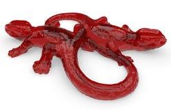 Абстрактные формы ящерицы бесплатная иллюстрация