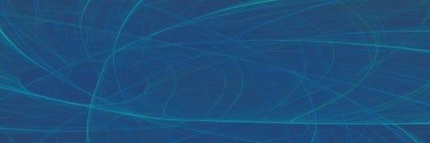 Абстрактные футуристические линии предпосылка знамени фрактали Ge компьютера стоковое фото