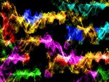 абстрактные цветастые волны Стоковые Фото