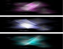 Абстрактные цветастые знамена Стоковая Фотография