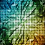 абстрактные цветастые обои вектора Стоковое фото RF