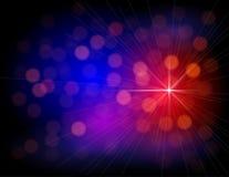 Абстрактные цветастые света Иллюстрация вектора