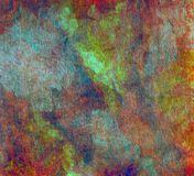 абстрактные цветастые текстуры Стоковое Изображение