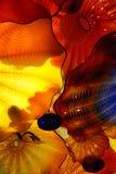 Абстрактные цвета выдувного стекла стоковые изображения rf