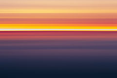Абстрактные цвета захода солнца, Стоковое Фото